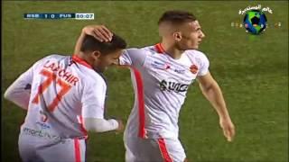 اهداف مباراة نهضة بركان ضد الفتح الرباطي 1-0 الدوري المغربي 4/2/2017