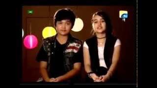 Young Filipino boy and Tajik girl Singing Hindi Song