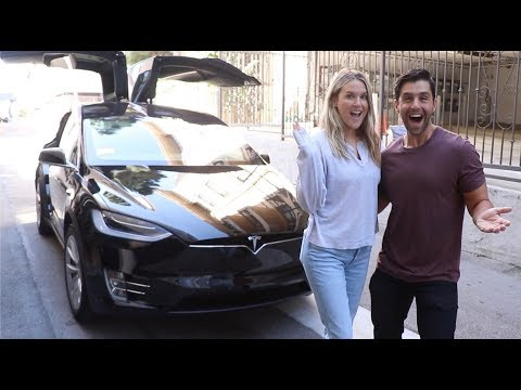 SURPRISING MY WIFE WITH A NEW TESLA