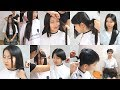 Download Video Hair2U - Miss Hu Long to Pixie Haircut in Steps Preview 3GP MP4 FLV