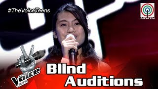 The Voice Teens Philippines Blind Audition: Ashley Go - Stand By Me
