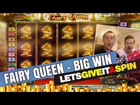 Massive casino win in Fairy Queen slot