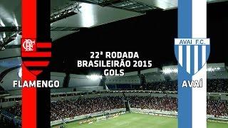 Gols - Flamengo 3 x 0 Avaí - Brasileirão - 02/09/2015