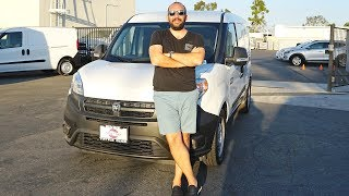 Amerika'nın Enişte DOBLO'su: Dodge RAM Promaster City