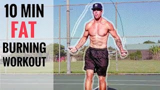 10 Min. Jump Rope Workout To Burn Fat