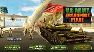 Army Tank Transport Plane Sim -  Tentara OffRoad Petualangan Transportasi