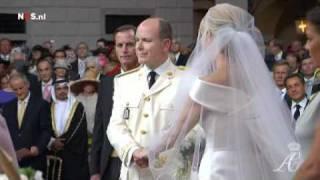شهبانو فرح پهلوی در  ازدواج سلطنتی  موناکو