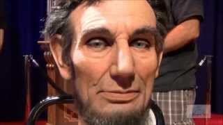 Abraham Lincoln Audio-Animatronic Facial Demonstration