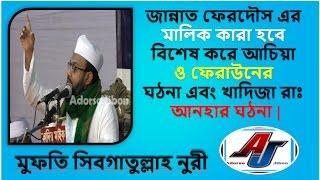জান্নাত ফেরদৌস এর মালিক কারা হবে Maulana Mufti Sibghatullah Nuri New Bangla Waz Sylhet 2017
