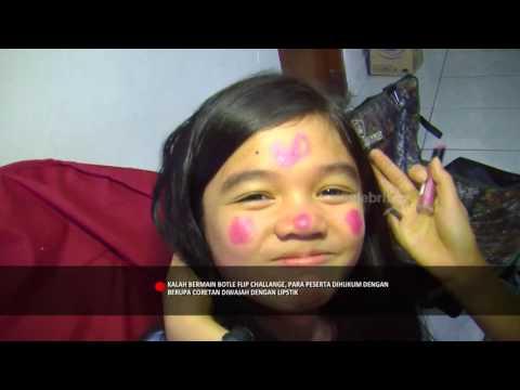 Water Bottle Flip Challenge ala Indra Birowo, Gisel dan Jessica Jadi Peragawati | Selebrita Pagi