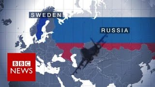 Why Sweden is concerned about Russian provocation - BBC News