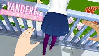 Playing Yandere Simulator IN FIRST PERSON! | Yandere Simulator Mod