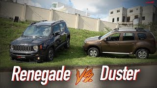 Comparativo Jeep Renegade vs Renault Duster  |Top Speed