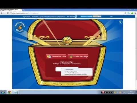 Club Penguin 5 Códigos para destravar itens 55 códigos bônus