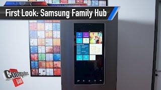 Samsung Family Hub: Das wohl größte Tablet der Welt