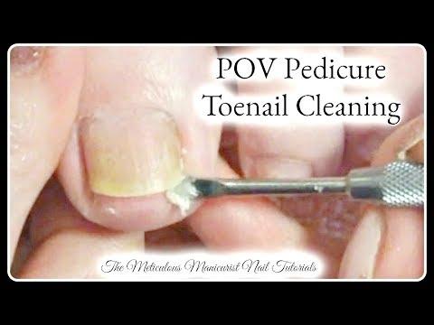 Xxx Mp4 👣 POV Salon Pedicure Tutorial Up Close Big Toenail Cleaning Real Time👣 3gp Sex