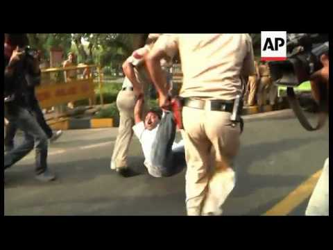India - Angry protests following rape of 5-year-old girl