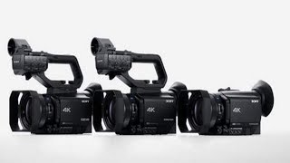 Sony unveils three new 4K HD video cameras: they also support an HDR instant workflow.