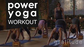 Full Body Power Yoga Workout  ????  Gratitude