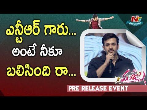 Xxx Mp4 Akhil Akkineni Speech Mr Majnu Pre Release Event Jr NTR Nidhhi Agerwal NTV Ent 3gp Sex