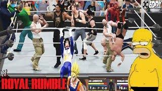 """Quien Mandara al Retiro a Homero"" - WWE Royal Rumble 2018"