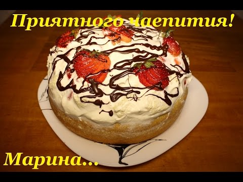 Рецепты простого бисквита для торта