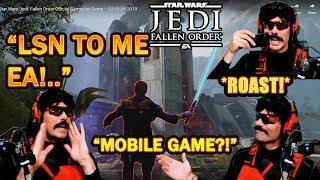 DrDisrespect ROASTS Respawn & EA on Star Wars Jedi: Fallen Order Graphics! (E3 Gameplay)