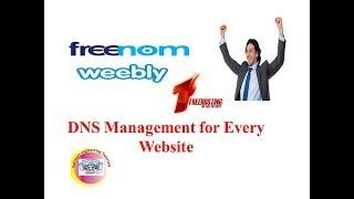 Freenom DNS management 100% working