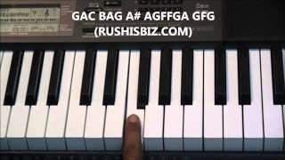 Kal Ho Naa Ho Full Song Piano Notes - Tutorials