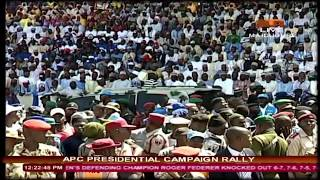 APC Presidential Campaign Rally In Maiduguri