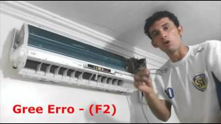 Erro F2 Ar condicionado gree | O Segredo dos Ar Split