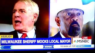 Sheriff Super Coon Clarke Is Now Threatening Elected Officials