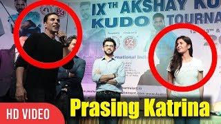 Akshay Kumar Praises Katrina Kaif | Mere Heroine Katrina Kaif