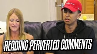 READING PERVERTED COMMENTS W/ LSK (KRISTOPHER LONDON) IN LONDON!!