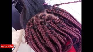 How to do Bob box braids