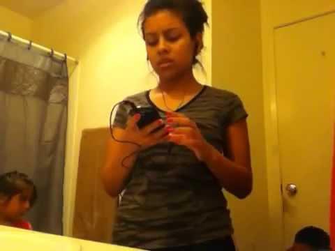 Caught little girl on camera peeing