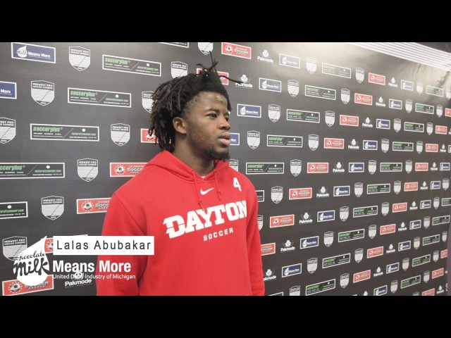 Lalas Abubakar interview at Midwest Pro Combine