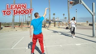 How To Shoot a Jumpshot Tutorial (Professor