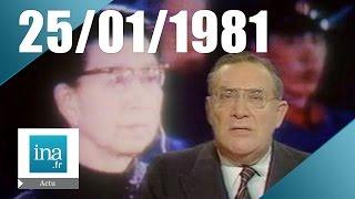 20h Antenne 2 du 25 janvier 1981 - La veuve de Mao comdamnée à mort   Archive INA