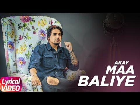 Maa Balliye ( Lyrical ) | A Kay Feat.Deep Jandu |  Latest Punjabi Song 2017 | Speed Records
