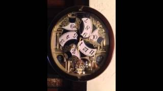 2014 Seiko Melodies In Motion Wall Clock
