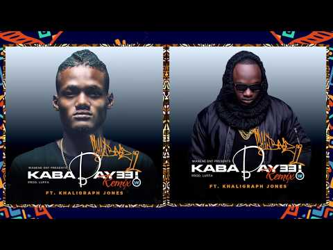Chin Bees FT Khaligraph Jones - Kababaye  Remix (Official Audio)