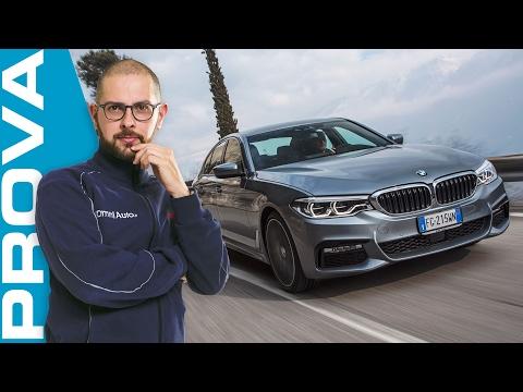 Nuova BMW Serie 5 2017 La prova su strada