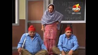 BEST COMEDY OF BHAGWANT MANN | JUGNU HAZIR HAI | EPISODE-48 SEG-3 | MH ONE MUSIC
