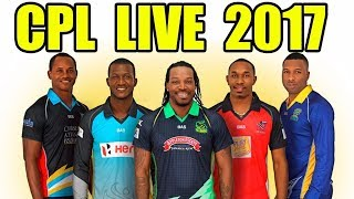 CPL 2017 LIVE : Trinbago Knight Riders vs Jamaica Tallawahs, 7th Match | Live Streaming
