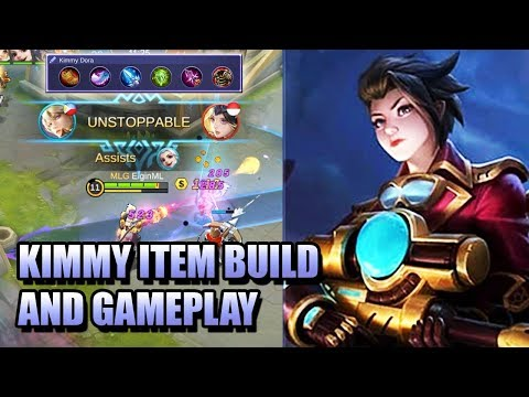 KIMMY ITEM BUILD AND GAMEPLAY MOBILE LEGENDS