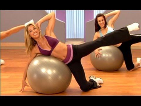 Denise Austin: Core & Legs Workout