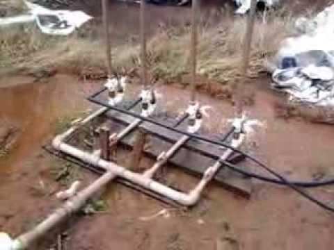 Carneiro hidráulico com 4 unidades