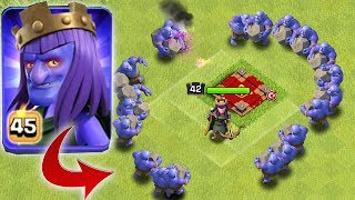 QUEEN + BOWLER | Clash of clans | KINGS OF CLASH