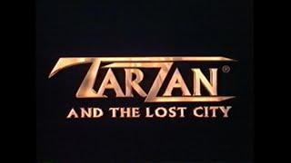 TARZAN AND THE LOST CITY MOVIE TRAILER [VHS] 1998